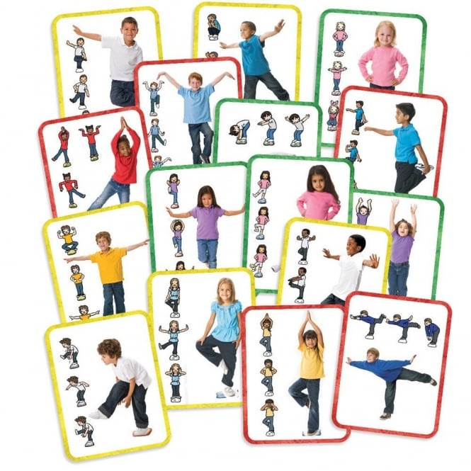 Stretch Bend And Balance Activity Cards