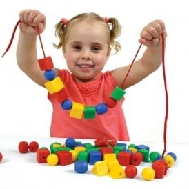 Threading Toys, Threading Beads, Threading Toys for Toddlers | EYR