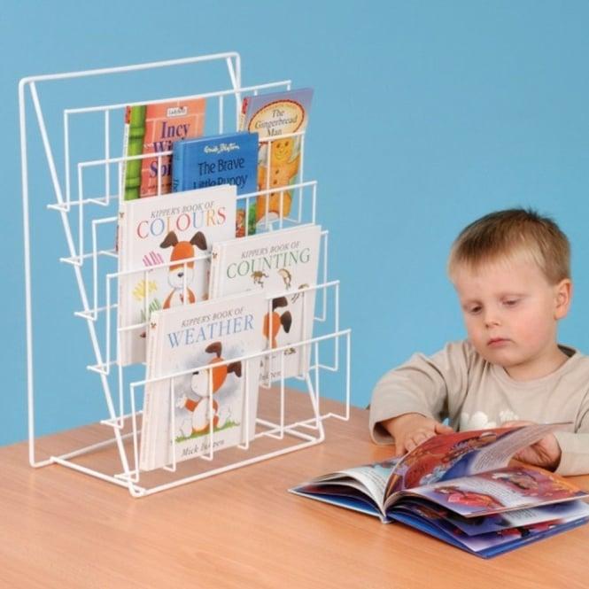 Table Top Wire Book Rack, Desktop Book Rack
