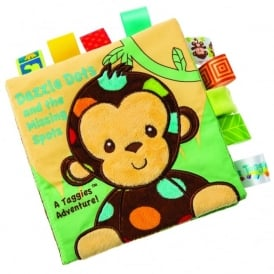 Taggies Dazzle Dots Soft Book - Monkey