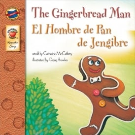 The Gingerbread Man English/Spanish Book