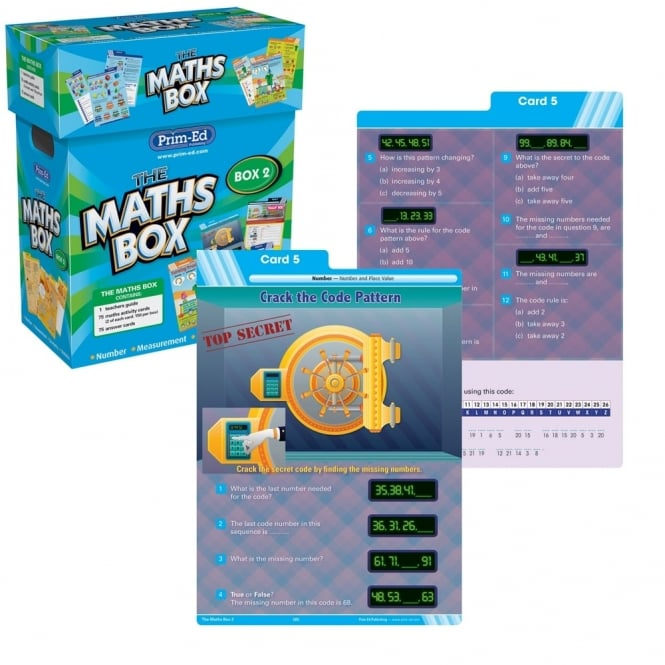 The Maths Box Year 2 - Numeracy from Early Years Resources UK