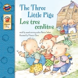 Three Little Pig English/Spanish Book