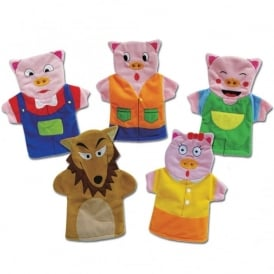 Three Little Pigs Storytelling Puppets