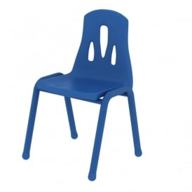 Thrifty Blue Stackable Chairs - Pack of 4