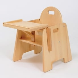 Toddler Beech First Chair with Tray