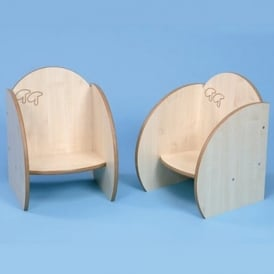 Toddler Chairs without Cushions