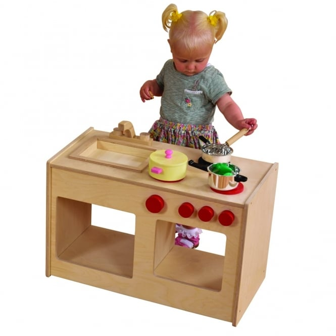 Toddler Sink and Cooker Unit