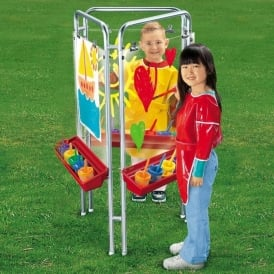 Transparent Three Sided Easel