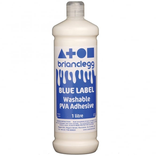Washable PVA Blue Label - 1 Litre
