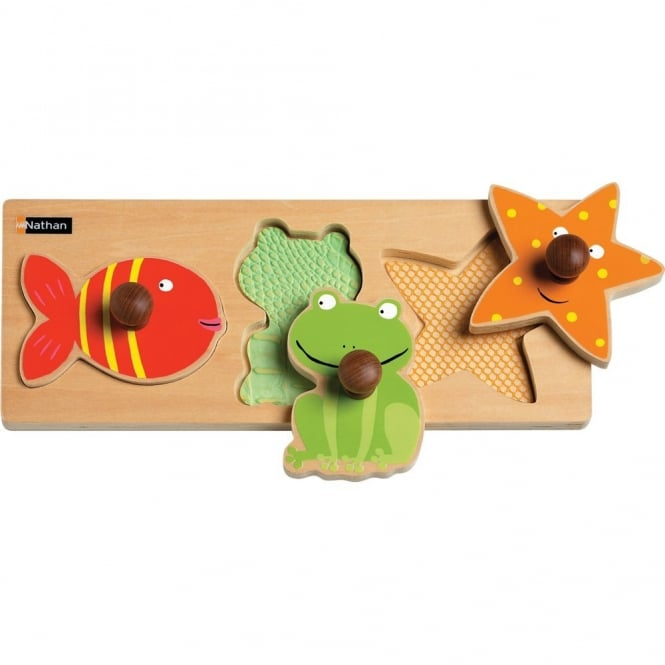 Water Animals Tactile Puzzle