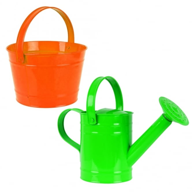 Watering Can And Bucket Set