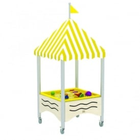 Wave Sand And Water Table With Canopy