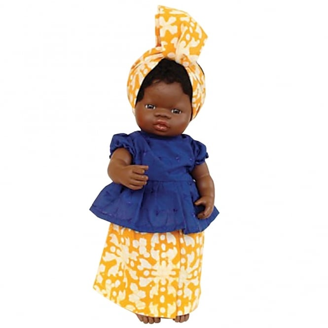 West African Dress Dolls Clothing