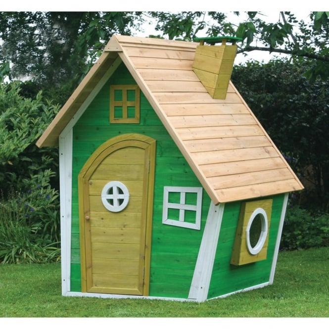 Whacky Ranch Wooden Playhouse
