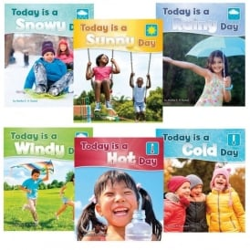 What Is The Weather Today Book Pack