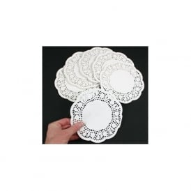 White Doilies Pack 250