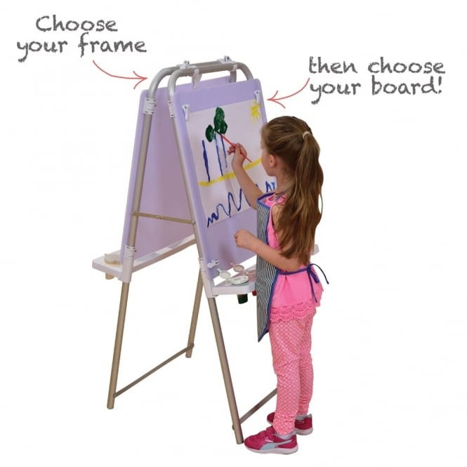 White Perspex Board For The Make Your Own Easel
