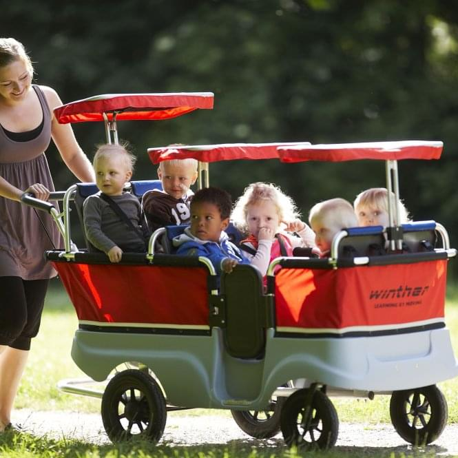 Winther Turtle Seater Kiddy Bus (4 or 6 Seater)