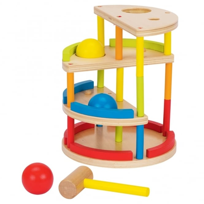 Wooden Bop And Roll Toy