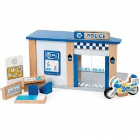 Wooden City Police Station