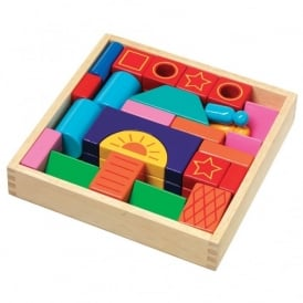Wooden Colour Blocks