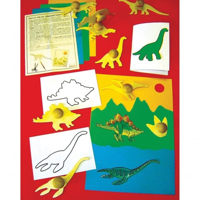 Wooden Dinosaurs Templates
