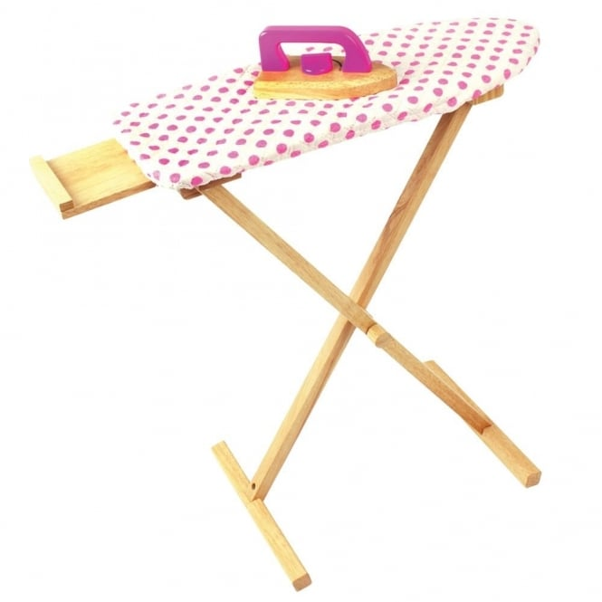 Wooden Ironing Set