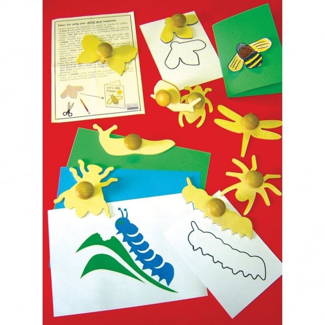 Wooden Minibeasts Templates Art Craft From Early Years Resources Uk