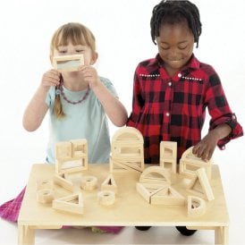Wooden Mirror Block Set