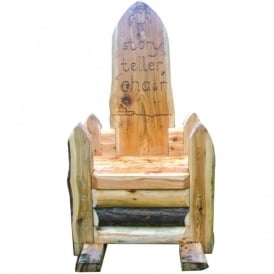 Wooden Storytellers Chair