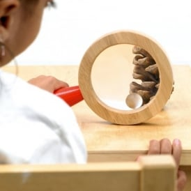 Wooden Surround Magnifier