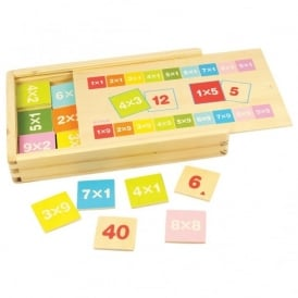 Wooden Times Table Box