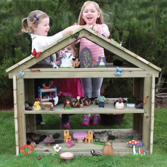 Woodland Hideaway Outdoor Dolls House