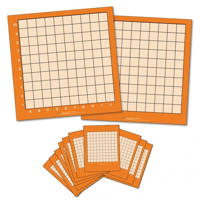 XY Co-ordinate Dry Wipe Boards