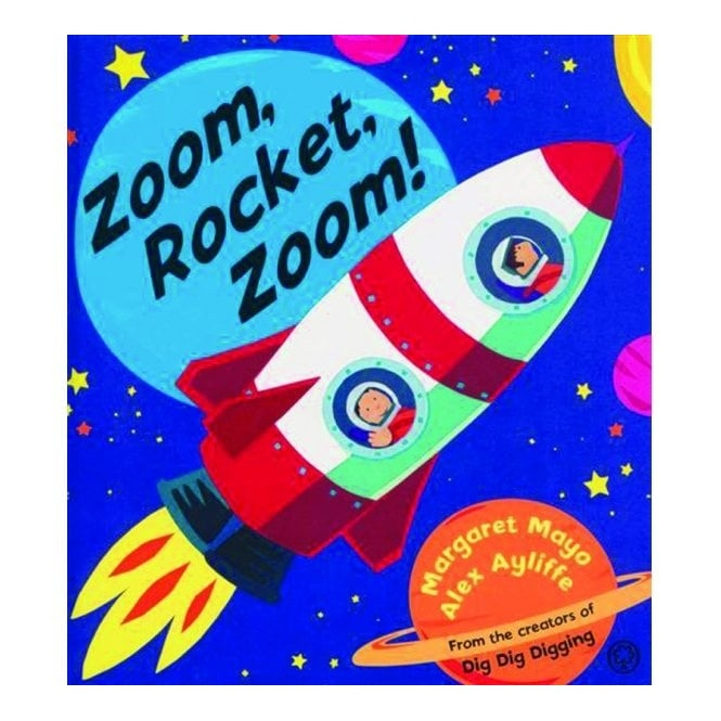 Zoom Rocket Zoom! Book
